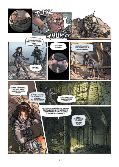 Page 9 cross fire tome 1 - opération judas