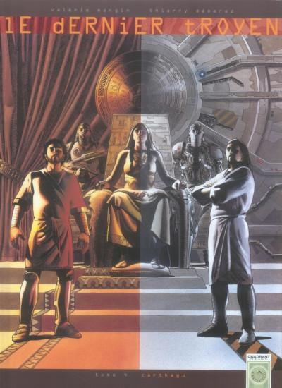 Couverture le dernier troyen tome 4 - carthago