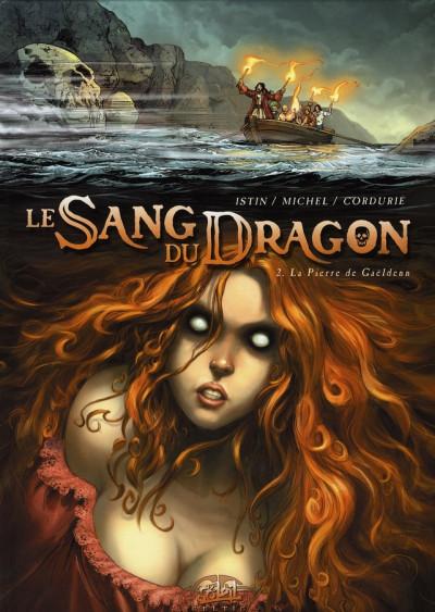 Couverture Le sang du dragon tome 2