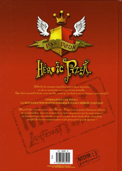 Dos heroic pizza tome 1 - pepperoni power