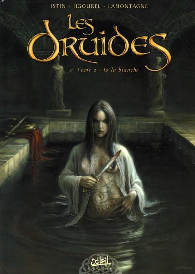 Couverture les druides tome 2 - is la blanche