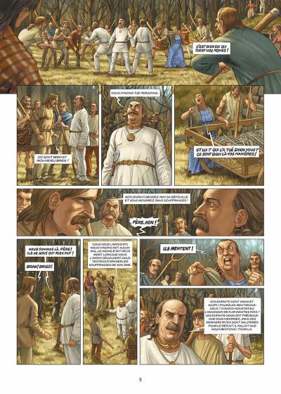 Page 6 les druides tome 2 - is la blanche