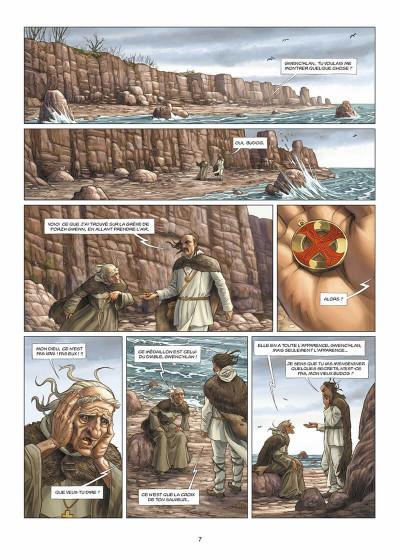 Page 8 les druides tome 2 - is la blanche