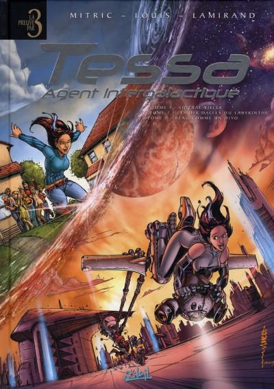 Couverture tessa, agent intergalactique - tome 1 à tome 3