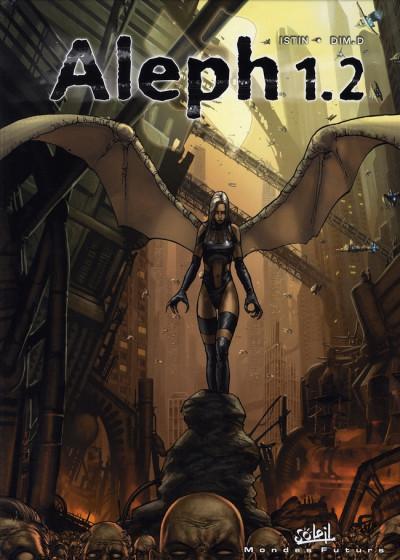 Couverture aleph 1.1 tome 2 - le neuvième dragon