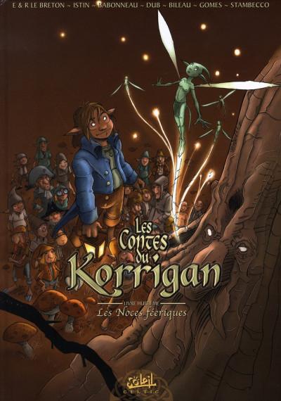 Couverture les contes du korrigan tome 8 - les noces féeriques