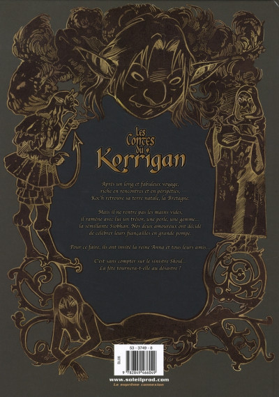 Dos les contes du korrigan tome 8 - les noces féeriques