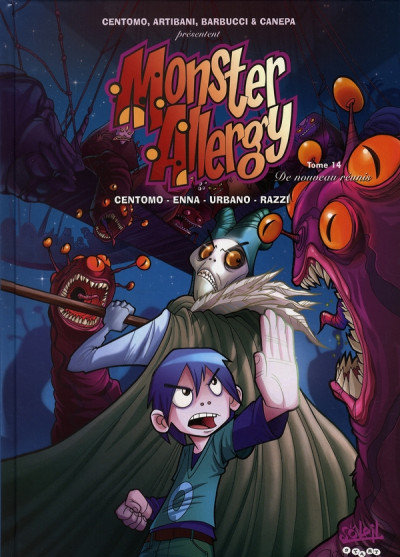 Couverture monster allergy tome 14 - de nouveau réunis