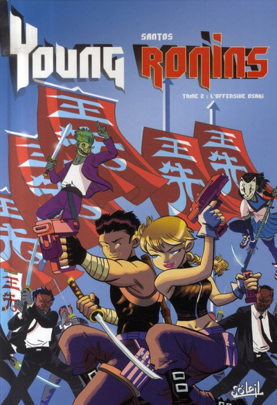 Couverture young ronins tome 2 - l'offensive osaki