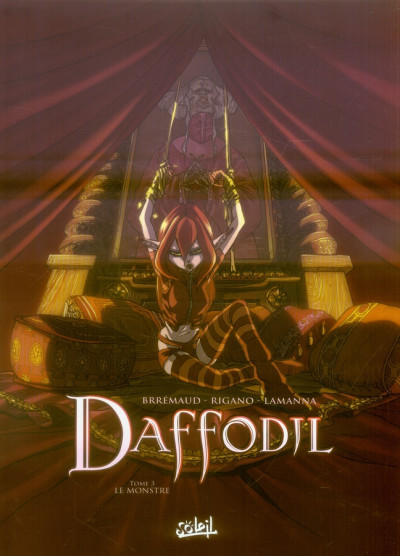 Couverture daffodil tome 3 - le monstre