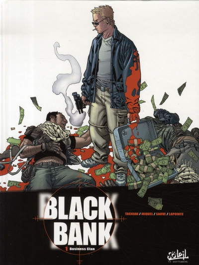 Couverture black bank tome 1 - business clan