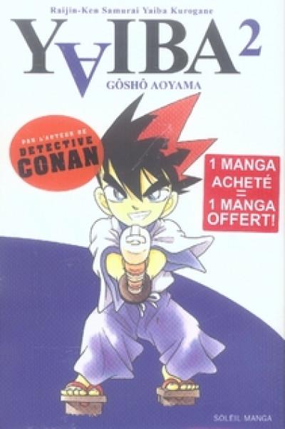 Couverture yaiba tome 2 + tome 1 gratuit