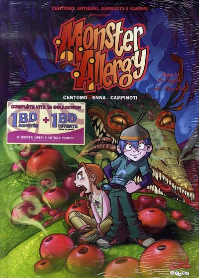 image de monster allergy - tome 11 et tome 12