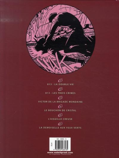 Dos arsène lupin tome 2 - 813 : les trois crimes