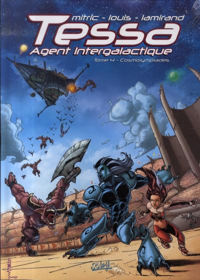 image de tessa, agent intergalactique tome 4 - cosmolympiades