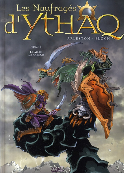 Couverture les naufragés d'ythaq tome 4 - l'ombre de khengis