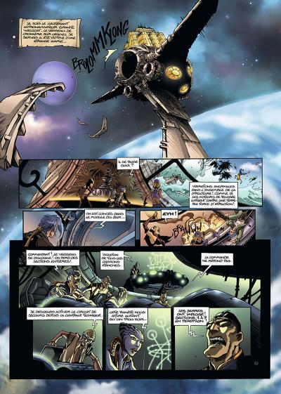 Page 4 les naufragés d'ythaq tome 4 - l'ombre de khengis