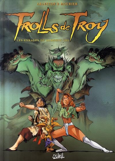 Couverture trolls de troy tome 10 - les enragés du darshan tome 2