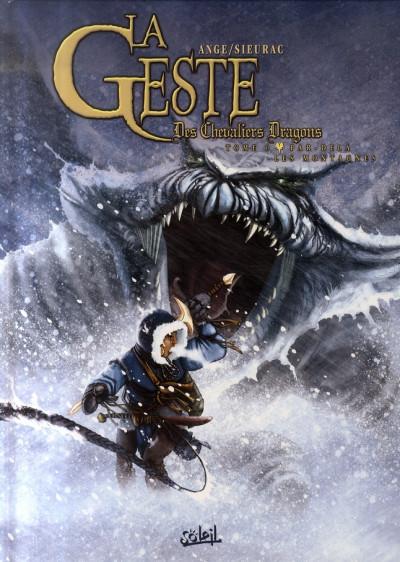 Couverture la geste des chevaliers dragons tome 6 - par-delà les montagnes