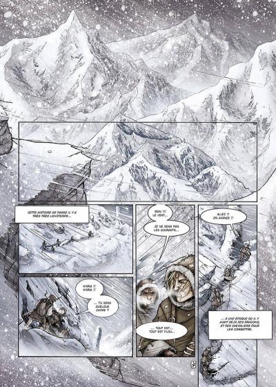 Page 4 la geste des chevaliers dragons tome 6 - par-delà les montagnes