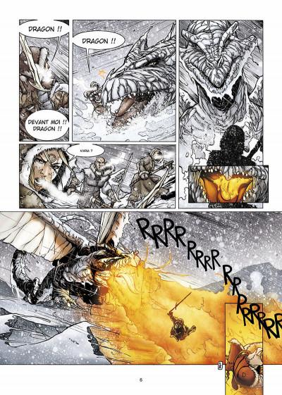 Page 7 la geste des chevaliers dragons tome 6 - par-delà les montagnes