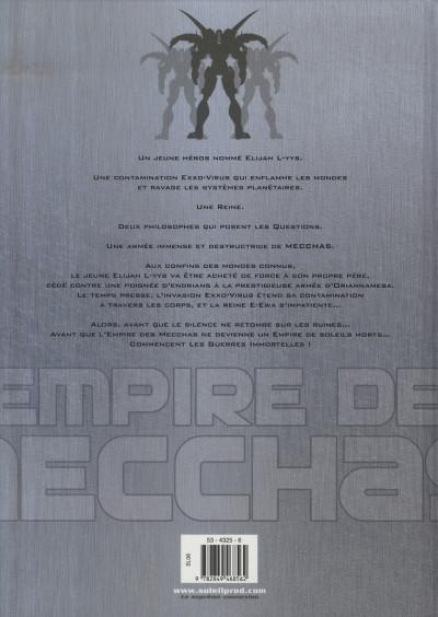 Dos l'empire des mecchas tome 1 - elijah l-yys, roi des immortels