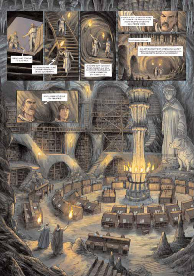 Page 2 les druides tome 3 - la lance de lug
