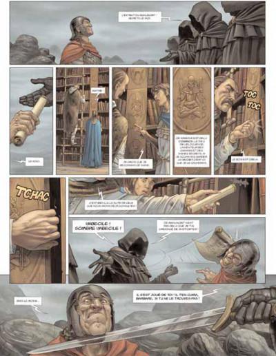 Page 3 les druides tome 3 - la lance de lug