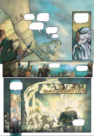 Page 2 la quête du graal tome 2 - le tombeau de balor