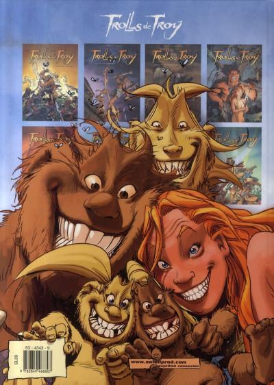 Dos trolls de troy tome 6 - trolls dans la brume