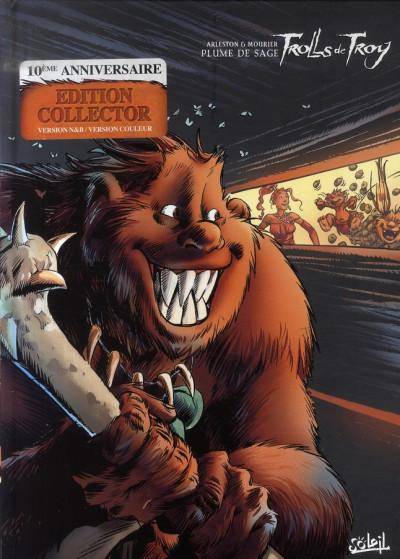 Couverture trolls de troy tome 7 - plume de sage