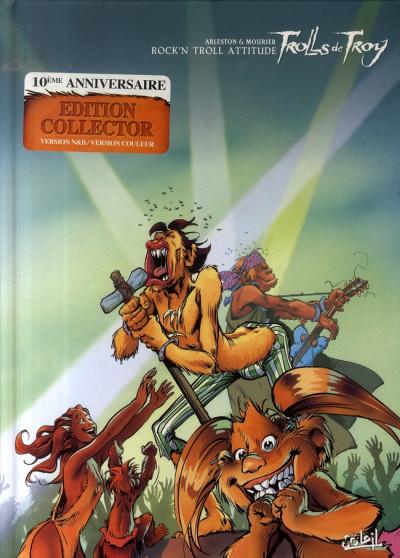 Couverture trolls de troy tome 8 - rock'n troll attitude