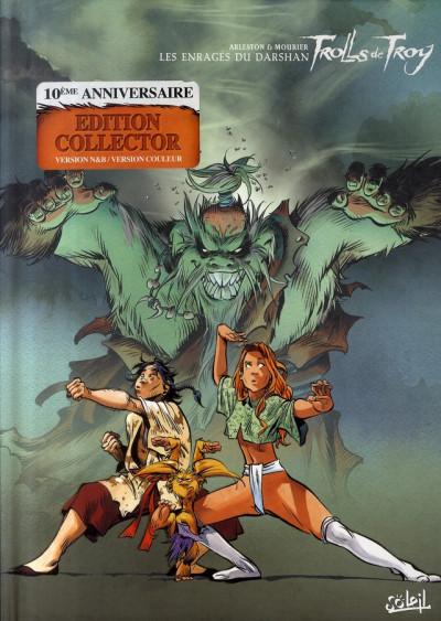 Couverture Trolls de troy tome 10 - les enragés du darshan 2