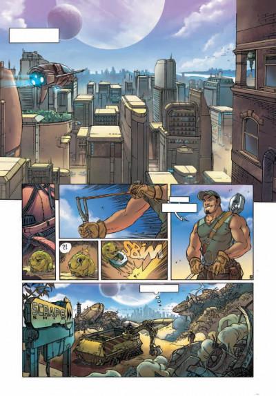 Page 3 les terres de caël tome 1 - la déesse endormie