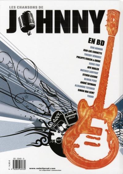 Dos les chansons de johnny en bd tome 1 - cordes sensibles