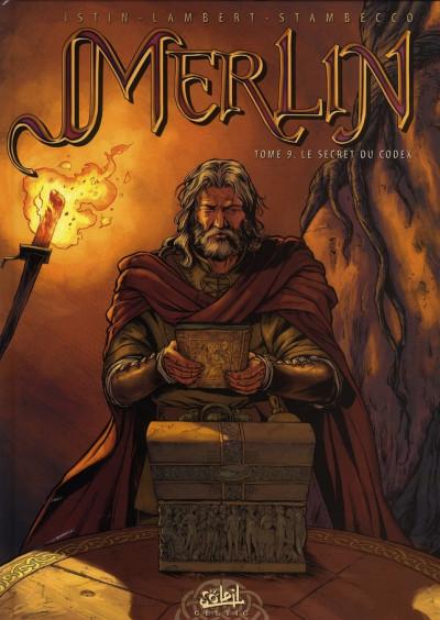 image de merlin tome 9 - le secret du codex