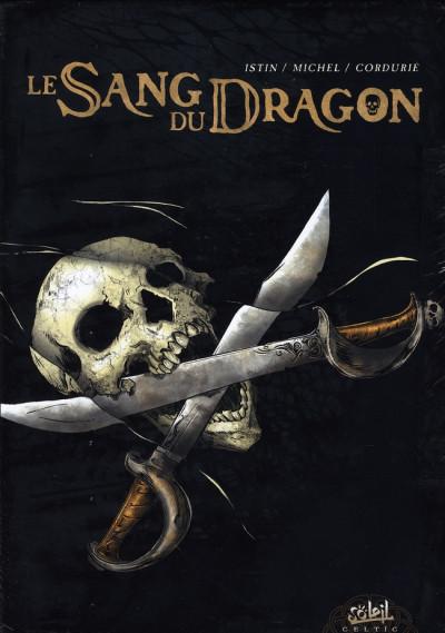 Couverture le sang du dragon - coffret tome 1 à tome 3