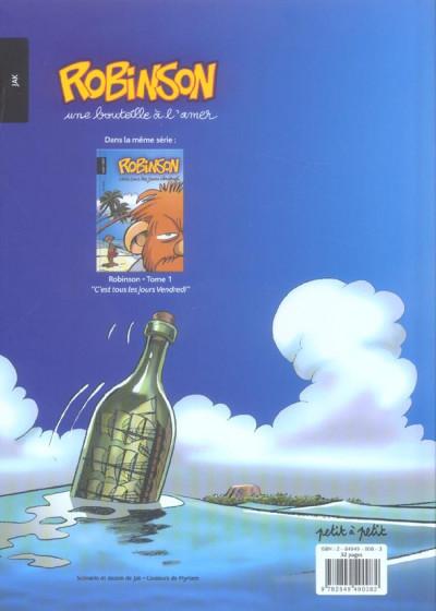 Dos robinson tome 2 - une bouteille à l'amer