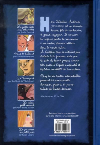 Dos andersen ; les contes en bandes dessinées