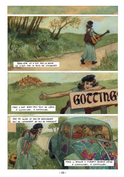 Page 1 chansons de ; barbara en bandes dessinées