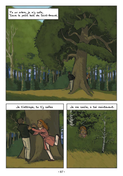 Page 4 chansons de ; barbara en bandes dessinées