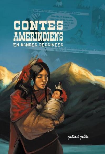 Couverture contes amérindiens en bandes dessinées