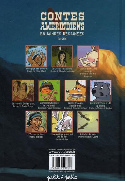 Dos contes amérindiens en bandes dessinées