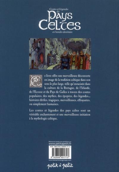 Dos contes et légendes des pays celtes en bande dessinées