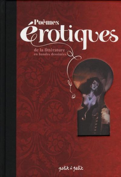 Couverture poèmes érotiques de la littérature française en bande dessinées