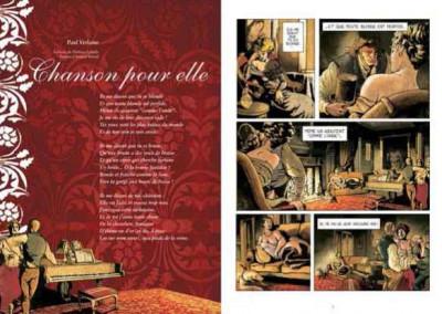 Page 1 poèmes érotiques de la littérature française en bande dessinées