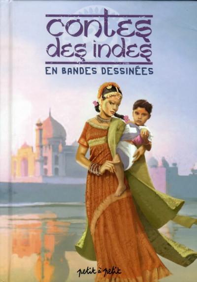 Couverture contes des indes en bandes dessinées