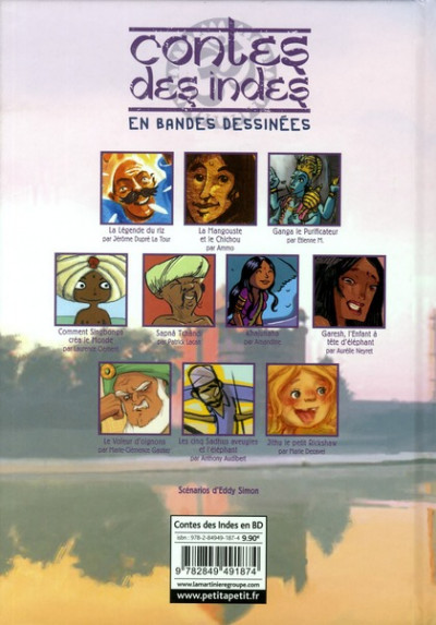 Dos contes des indes en bandes dessinées
