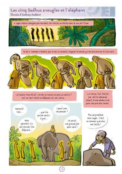 Page 1 contes des indes en bandes dessinées