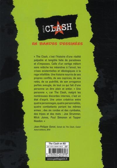 Dos The Clash en bandes dessinées